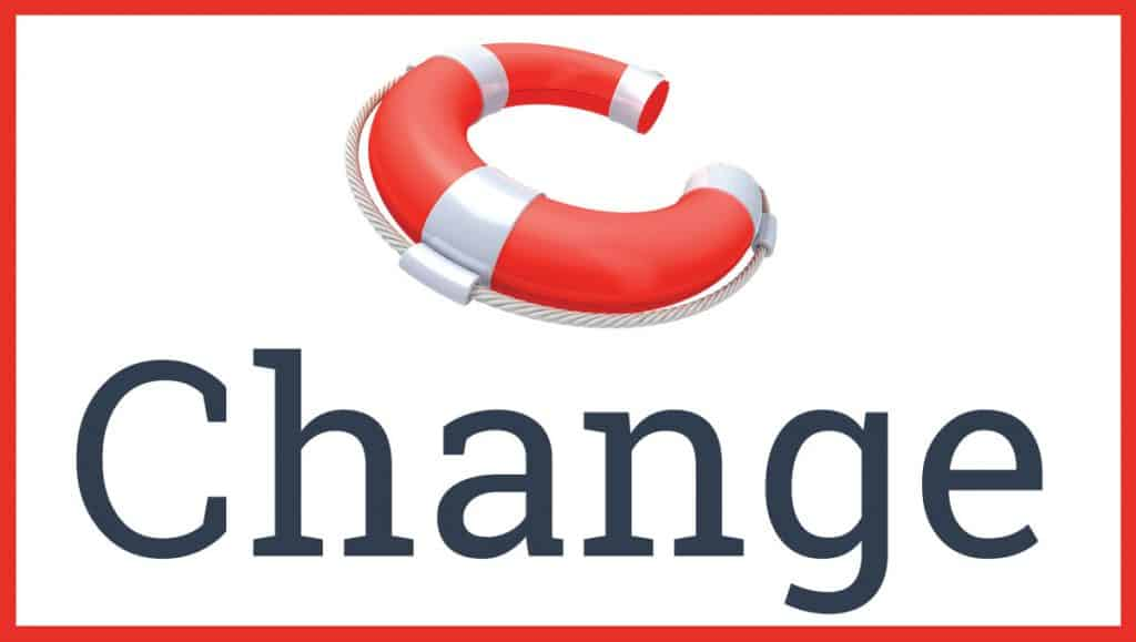 cchange logo red